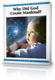 God create human